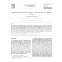 Building Project Capabilities in PBOs : Lessons from the French Special Forces | Melkonian, Tessa