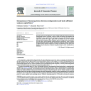 Entrepreneurs' Financing Choice between Independent and Bank-Affiliated Venture Capital Firms | Groh, Alexander (19..-....)