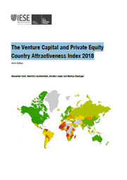 The Venture Capital and Private Equity : Country Attractiveness Index 2018 | Groh, Alexander